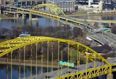 γέφυρες Πίτσμπουργκ Στοκ Φωτογραφία