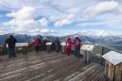 Γέφυρες παρατήρησης βουνών Sulfer Στοκ εικόνες με δικαίωμα ελεύθερης χρήσης