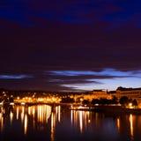 Γέφυρες στην Πράγα Στοκ Εικόνες