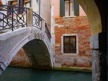 Γέφυρες στη Βενετία Στοκ Εικόνα