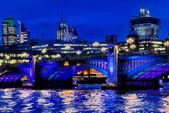 Γέφυρες του Λονδίνου Στοκ Εικόνες