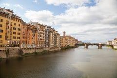 γέφυρες Φλωρεντία Ιταλί&alpha Στοκ Φωτογραφία