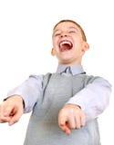 Γέλιο αγοριών Στοκ φωτογραφία με δικαίωμα ελεύθερης χρήσης