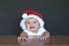 Γέλιο Santa μωρών απόθεμα βίντεο