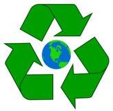 γήινη ανακύκλωση στοκ φωτογραφία με δικαίωμα ελεύθερης χρήσης