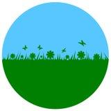 Γήινη ημέρα - κύκλος Στοκ φωτογραφίες με δικαίωμα ελεύθερης χρήσης