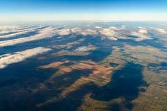 Γήινη φωτογραφία από 10 000m επάνω από το έδαφος Στοκ Εικόνες