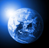 γήινος ήλιος ελεύθερη απεικόνιση δικαιώματος