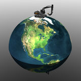 γήινος εκσκαφέας βαρύς ελεύθερη απεικόνιση δικαιώματος
