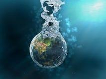 γήινος παφλασμός απεικόνιση αποθεμάτων