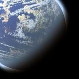 γήινος πλανήτης Στοκ Φωτογραφία