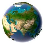 γήινος φυσικός πλανήτης ρ&e διανυσματική απεικόνιση
