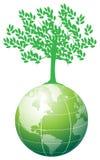 γήινο δέντρο Στοκ φωτογραφία με δικαίωμα ελεύθερης χρήσης