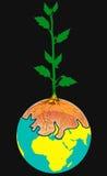γήινο δέντρο ελεύθερη απεικόνιση δικαιώματος