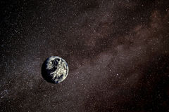 γήινο διάστημα Στοκ εικόνες με δικαίωμα ελεύθερης χρήσης
