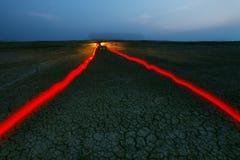 γήινο ελαφρύ τρέξιμο ερήμων  Στοκ εικόνες με δικαίωμα ελεύθερης χρήσης