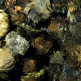 Γήινο κυματισμένο τόνος υπόβαθρο Στοκ φωτογραφία με δικαίωμα ελεύθερης χρήσης
