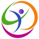 γήινο λογότυπο Στοκ Εικόνες