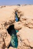 Γήινο σπάσιμο Αίγυπτος Στοκ Φωτογραφίες