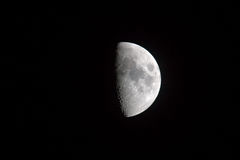 γήινο φεγγάρι s Στοκ Εικόνα