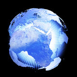 γήινο φως Στοκ εικόνα με δικαίωμα ελεύθερης χρήσης