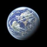γήινο διάστημα Στοκ φωτογραφία με δικαίωμα ελεύθερης χρήσης