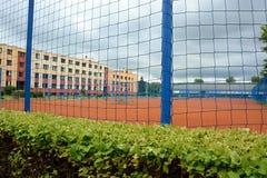 Γήπεδα αντισφαίρισης στο πάρκο Stromovka στην Πράγα στοκ εικόνες με δικαίωμα ελεύθερης χρήσης