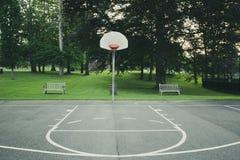 γήπεδο μπάσκετ εάν απεικόνιση Στοκ εικόνα με δικαίωμα ελεύθερης χρήσης