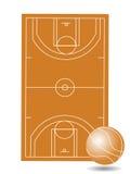 γήπεδο μπάσκετ διανυσματική απεικόνιση