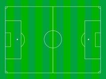 Γήπεδο ποδοσφαίρου Στοκ Εικόνα