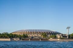 Γήπεδο ποδοσφαίρου Luzhniki Στοκ Εικόνα