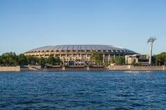 Γήπεδο ποδοσφαίρου Luzhniki Στοκ φωτογραφία με δικαίωμα ελεύθερης χρήσης