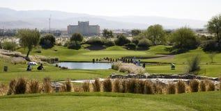 Γήπεδο του γκολφ υπογραφών φορέων του Gary Στοκ Φωτογραφίες
