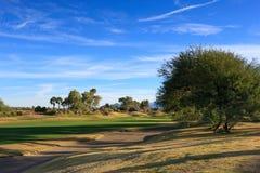 Γήπεδο του γκολφ στοκ εικόνες