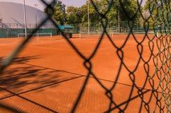 Γήπεδο αντισφαίρισης Στοκ Φωτογραφία