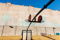 γήπεδο μπάσκετ εάν απεικόνιση Στοκ Φωτογραφίες