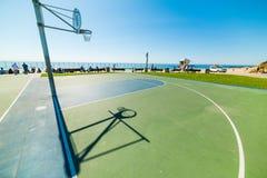 Γήπεδο μπάσκετ σε Santa Barbara Στοκ φωτογραφία με δικαίωμα ελεύθερης χρήσης