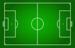 Γήπεδο ποδοσφαίρου, ποδόσφαιρο, ποδόσφαιρο, αθλητισμός διανυσματική απεικόνιση