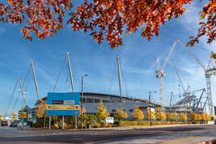 Γήπεδο ποδοσφαίρου πόλεων του Μάντσεστερ Στοκ Εικόνα