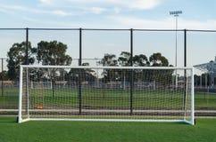Γήπεδο ποδοσφαίρου σε Shepparton, Αυστραλία στοκ φωτογραφία με δικαίωμα ελεύθερης χρήσης