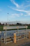Γήπεδο ποδοσφαίρου σε Shepparton, Αυστραλία στοκ εικόνες με δικαίωμα ελεύθερης χρήσης