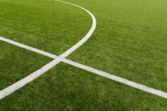 Γήπεδο ποδοσφαίρου Στοκ φωτογραφία με δικαίωμα ελεύθερης χρήσης