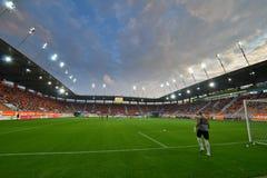 Γήπεδο ποδοσφαίρου. Στοκ φωτογραφία με δικαίωμα ελεύθερης χρήσης