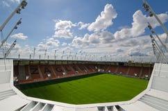Γήπεδο ποδοσφαίρου. Στοκ εικόνα με δικαίωμα ελεύθερης χρήσης