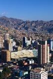 Γήπεδο ποδοσφαίρου Hernando Siles στο Λα Παζ, Βολιβία Στοκ φωτογραφίες με δικαίωμα ελεύθερης χρήσης