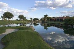 Γήπεδο του γκολφ υπογραφών φορέων του Gary Στοκ Εικόνες