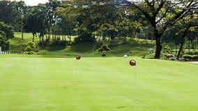 Γήπεδο του γκολφ Στοκ εικόνα με δικαίωμα ελεύθερης χρήσης
