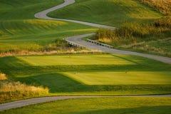 Γήπεδο του γκολφ Στοκ Φωτογραφία