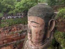 γίγαντας του Βούδα leshan Στοκ Εικόνα