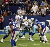 Γίγαντες Romo κάουμποϋ που περιμένουν τη θραύση Στοκ Εικόνα